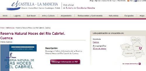 Web de Turismo de la JCCM
